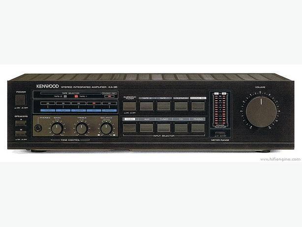 Vintage Kenwood DP-750, Tuner KT-45, Amp KA-95-125 Watts/Ch