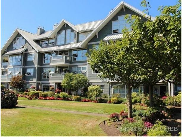 Nanaimo Oceanfront Condominium For Sale -- Corner Suite