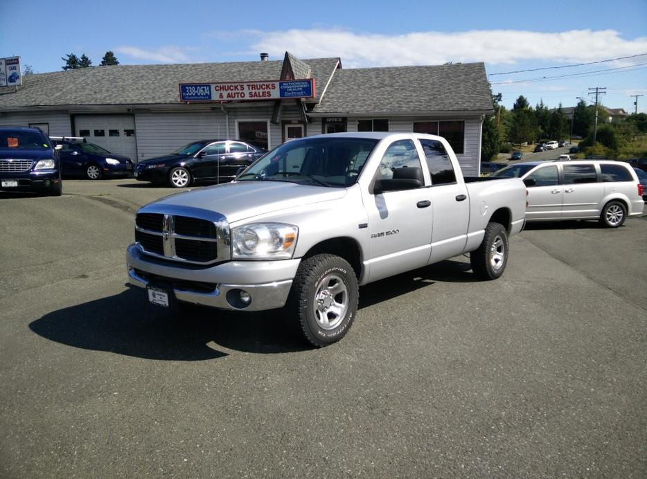 2007 dodge ram 1500 slt stock 2827 courtenay courtenay comox mobile. Black Bedroom Furniture Sets. Home Design Ideas