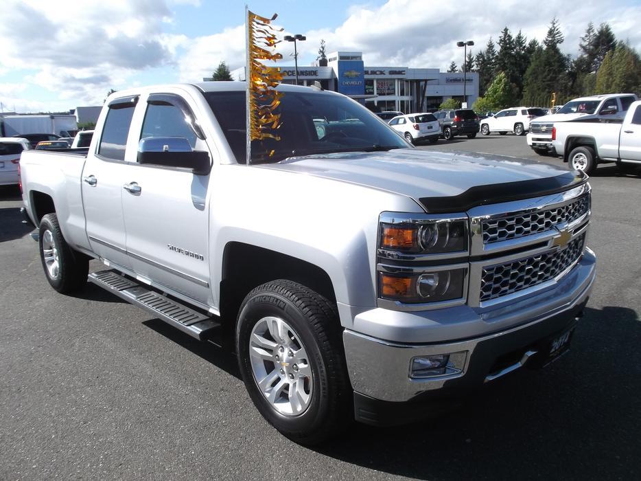 2014 Chevrolet Silverado 1500 Ltz 4x4 For Sale Outside