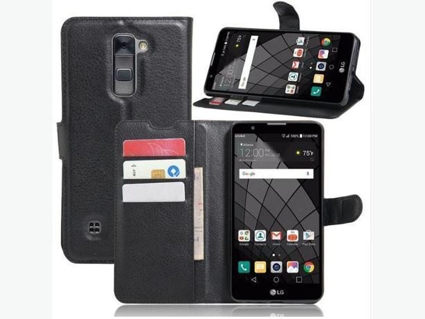 New Flip Folio Wallet Case for LG Stylus 2 Plus