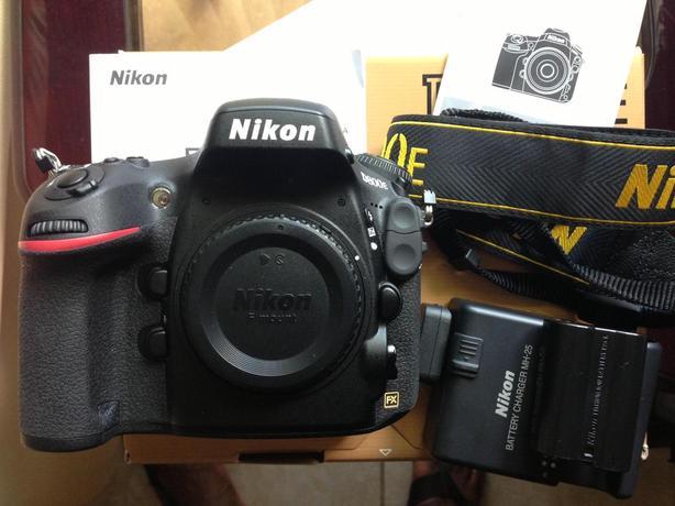 Nikon D800E DSLR - 36Megapixels