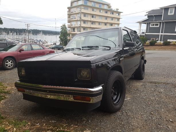 1985 Chevrolet s10 Blazer 350 v8 swap
