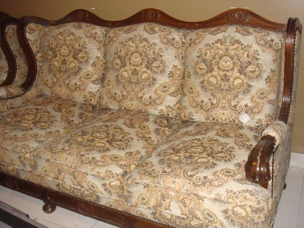 3 piece antique sofa set