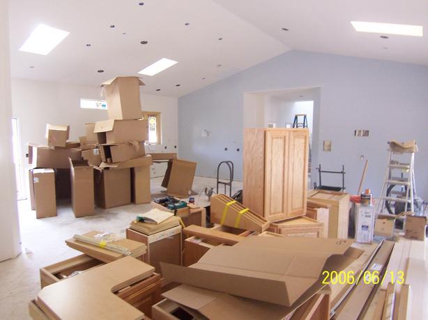 Cabinet Installation/Interior Trim work