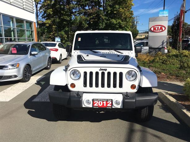 2012 Jeep Wrangler 4x4 Unlimited Sahara