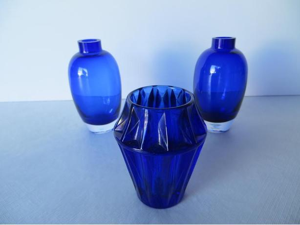 Mini Vases (3).....dark blue