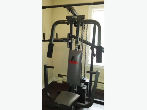weider pro series home gym