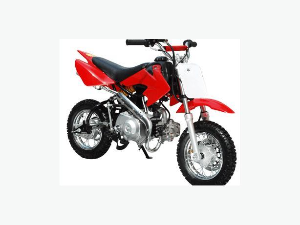 DirtBike ~ 49cc 4-speed