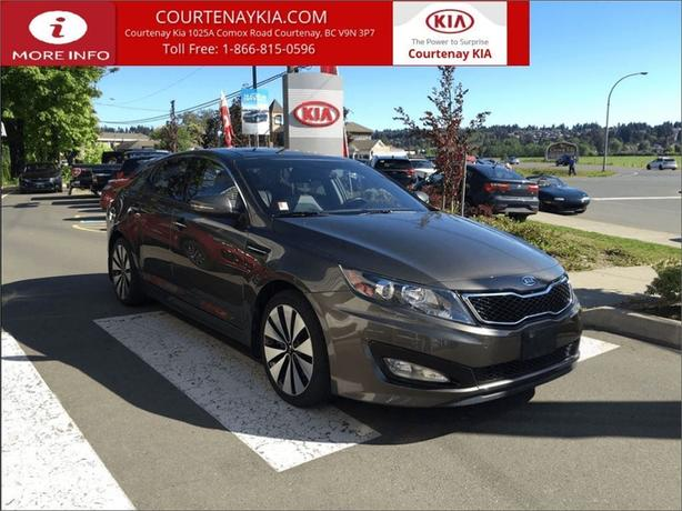 2012 Kia Optima SX | Local Island Vehicle