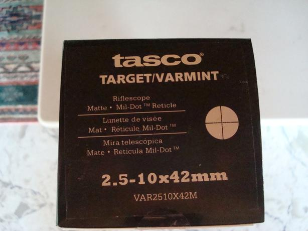 "TASCO Target & Varmint scope """" price drop Sept.23"""""