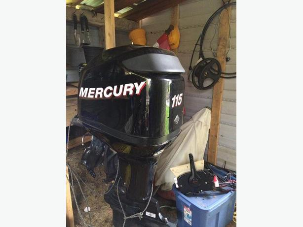 115hp Mercury LIKE NEW