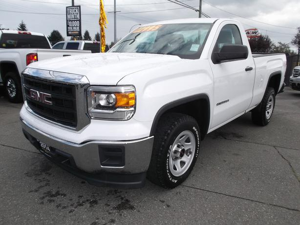 2014 GMC SIERRA REG CAB W/T FOR SALE