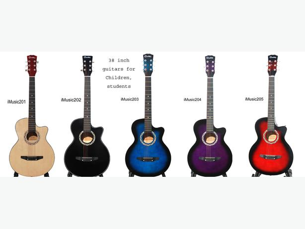 2 for $179.99 Acoustic Guitars for beginners students 38 inch brand New iMT908