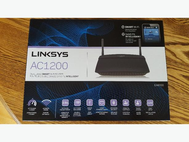 LINKSYS router AC1200
