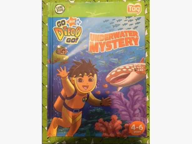 LeapFrog® Tag / LeapReader book - Go Diego Go, Underworld Mystery