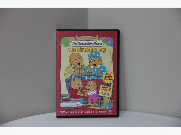 "FREE - Berenstain Bears' ""The Birthday Boy"" DVD"