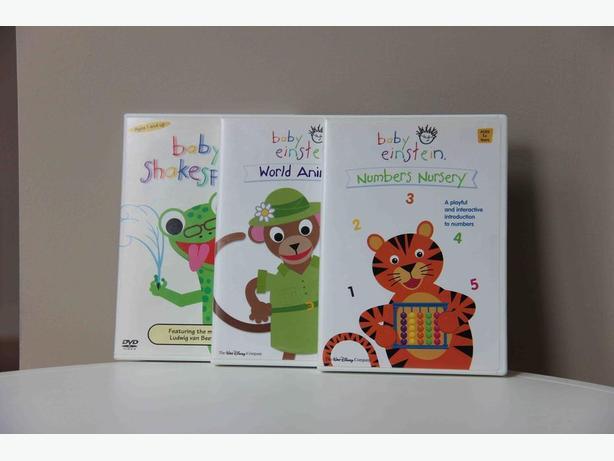 FREE - Baby Einstein DVDs
