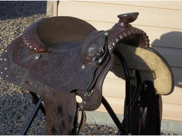 Wanted Western Saddle