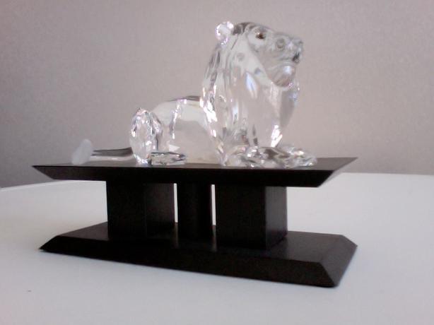 Swarovski Inspiration Africa Lion 435669 & Stand 4080
