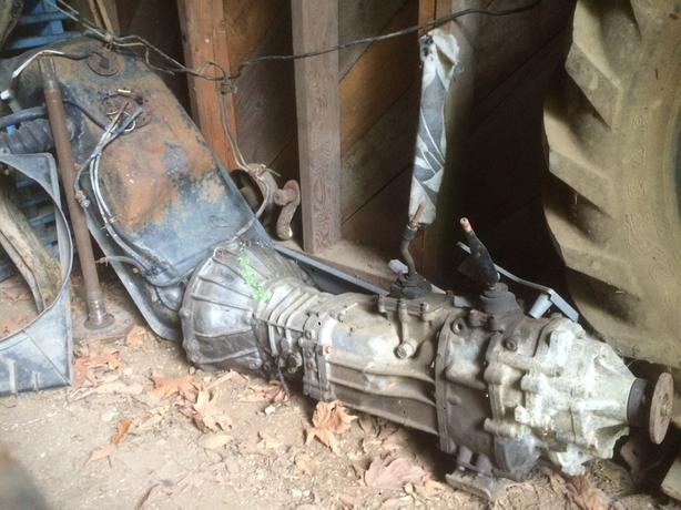1988 toyota pick up - Transmission and Transfer case