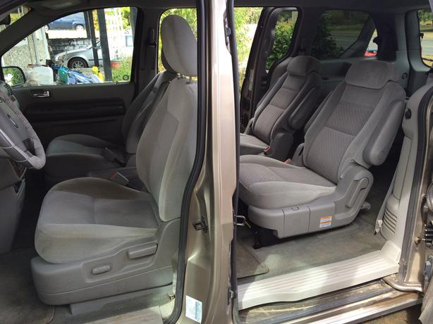 2004 Ford Freestar SEL (grey)