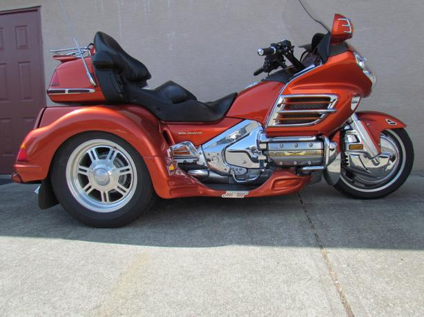 Trike For Sale 2003 GL1800 Goldwing Trike   $27,000