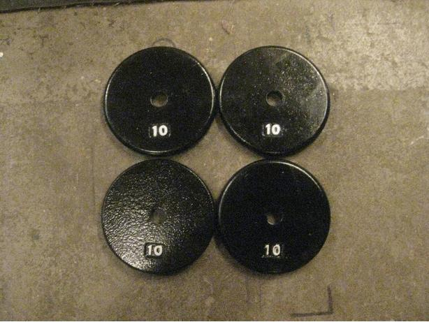4 -10 LB METAL WEIGHTS