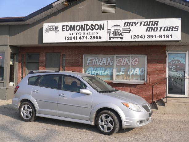 2007  Pontiac Vibe w/Manual Transmission