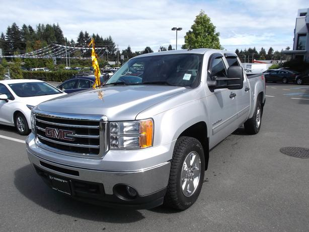 2012 gmc sierra crew cab 4x4 for sale outside comox valley campbell river mobile. Black Bedroom Furniture Sets. Home Design Ideas