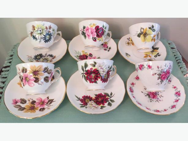Royal Vale China Cup and Saucer