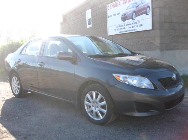 2009 Toyota Corolla, AUTO , ALL PWR, AC, 12M.WRTY+SAFETY $7777