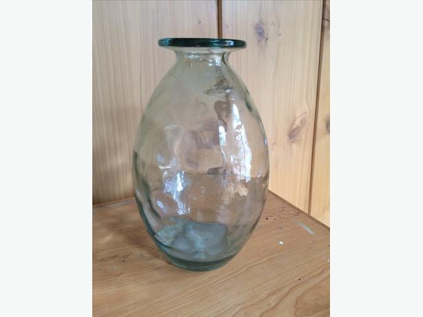 Classic Textured Glass Vase
