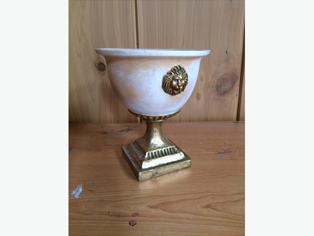 Roman Inspired Ceramic Urn
