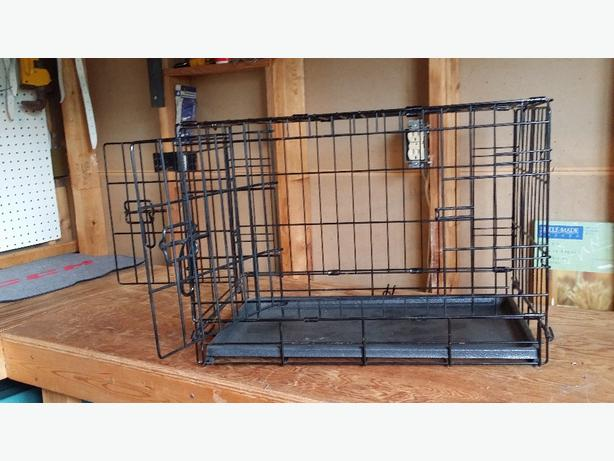 Wire 2 Door Collapsible Pet Crate