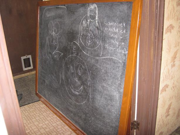 Very Large Chalkboard