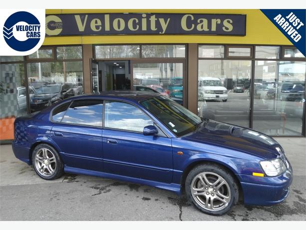 2001 Subaru Legacy B4 RSK 4WD 35K's  Low Mileage Twin-Turbo