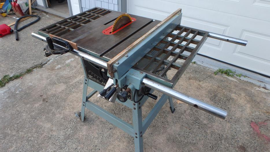 10 Delta Table Saw Outside Nanaimo Parksville Qualicum Beach Mobile