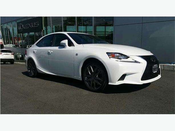2016 Lexus IS 200t F Sport Series 1 ONE OWNER LOCAL ISLAND