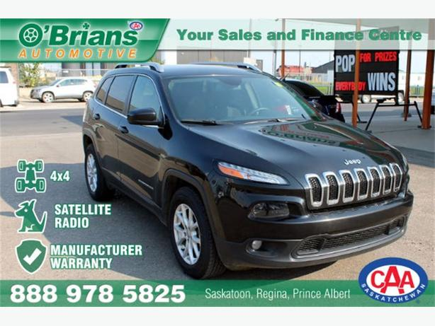 2015 jeep cherokee latitude 4x4 warranty central regina regina. Black Bedroom Furniture Sets. Home Design Ideas