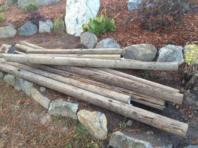Landscaping Ties Nanaimo : Free landscape ties saanich victoria