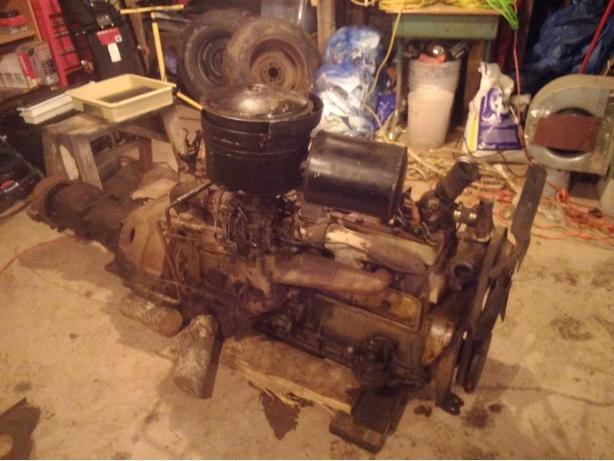 1941 Chrysler straight 8