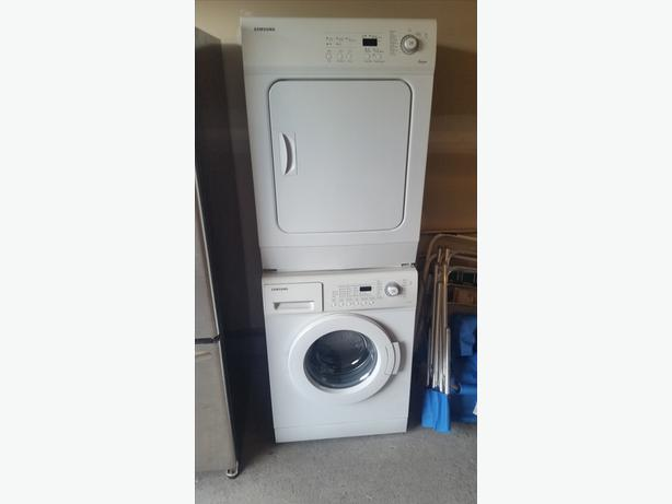 "Samsung 24"" Front Load Laundry"