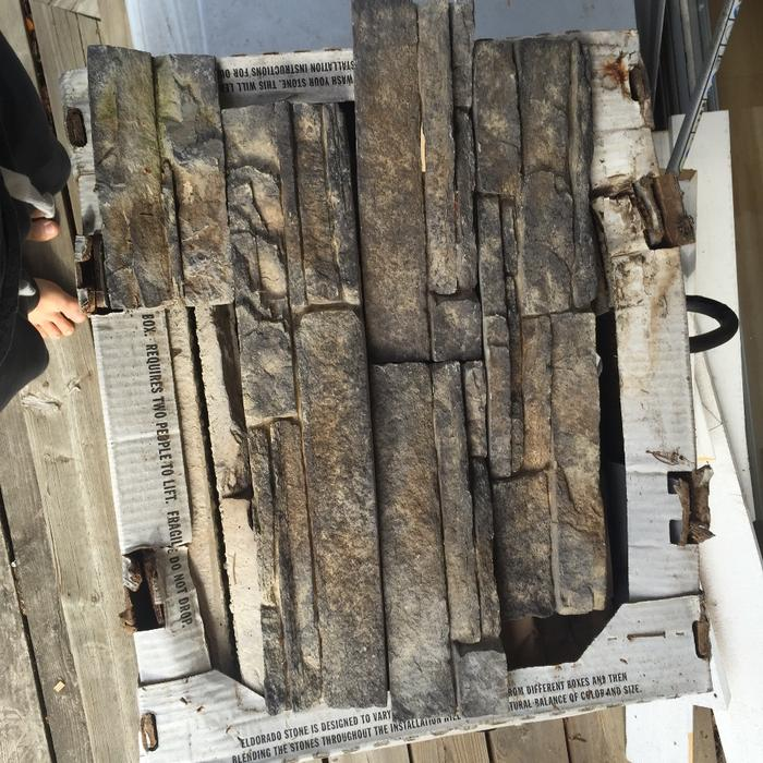 Cultured Stone Rock Siding West Shore Langford Colwood