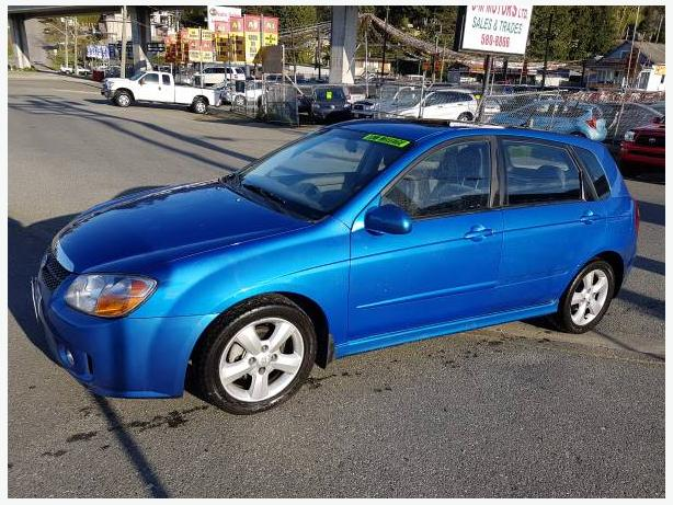 2008 Kia Spectra5 with Sun-Roof, 75K's