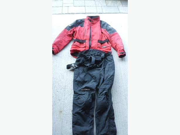 Used Jacket,  pants and travel gear