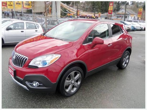2013 buick encore must reliable compact suv 4 wheel drive surrey incl white rock vancouver. Black Bedroom Furniture Sets. Home Design Ideas