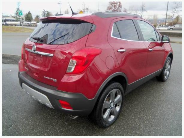 2013 buick encore must reliable compact suv 4 wheel drive surrey incl white rock. Black Bedroom Furniture Sets. Home Design Ideas
