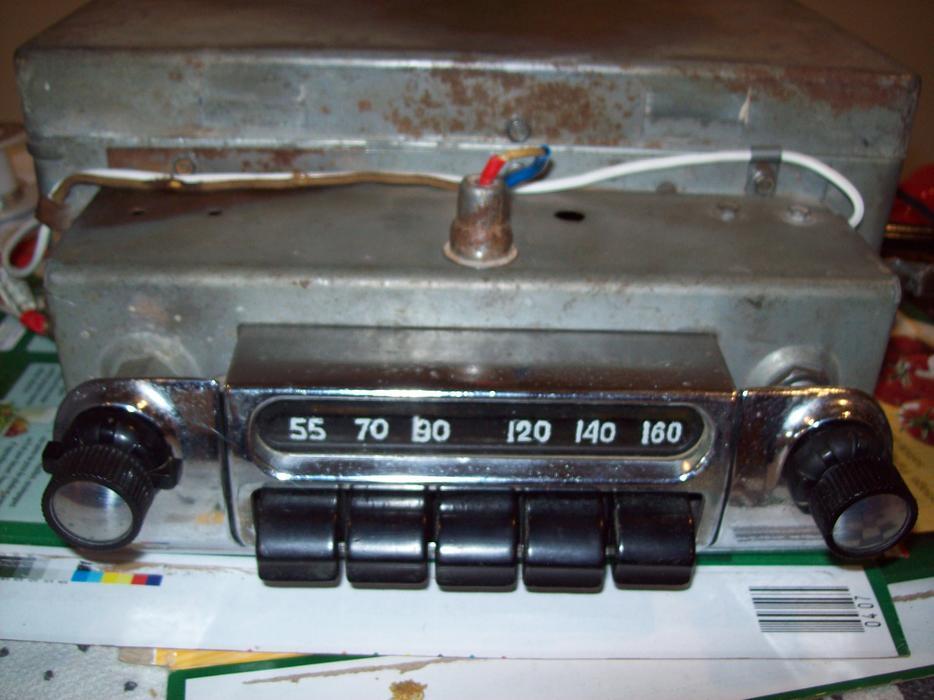 Vintage 1953 1954 Restored Chevrolet 6 Volt Car Radio West