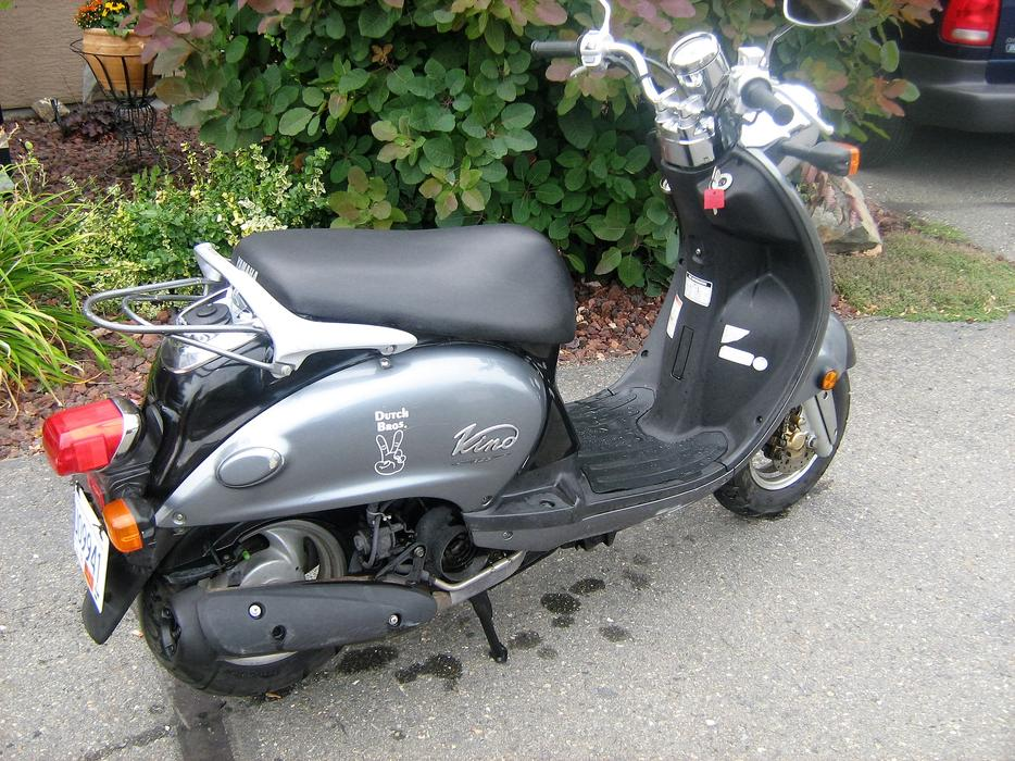 2006 yamaha vino 125 scooter outside metro vancouver for Yamaha vino 2006